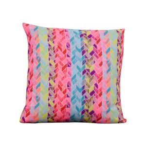Society Social Society Social Multi Colored Pattern Pillow