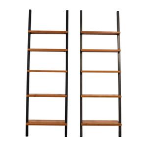 Room & Board Wood and Metal Bookshelves Room & Board