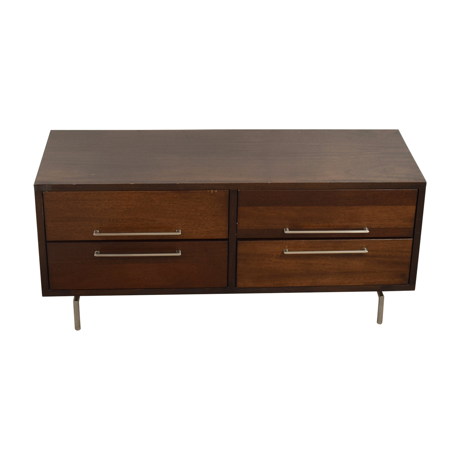 Room & Board Wood TV Console sale
