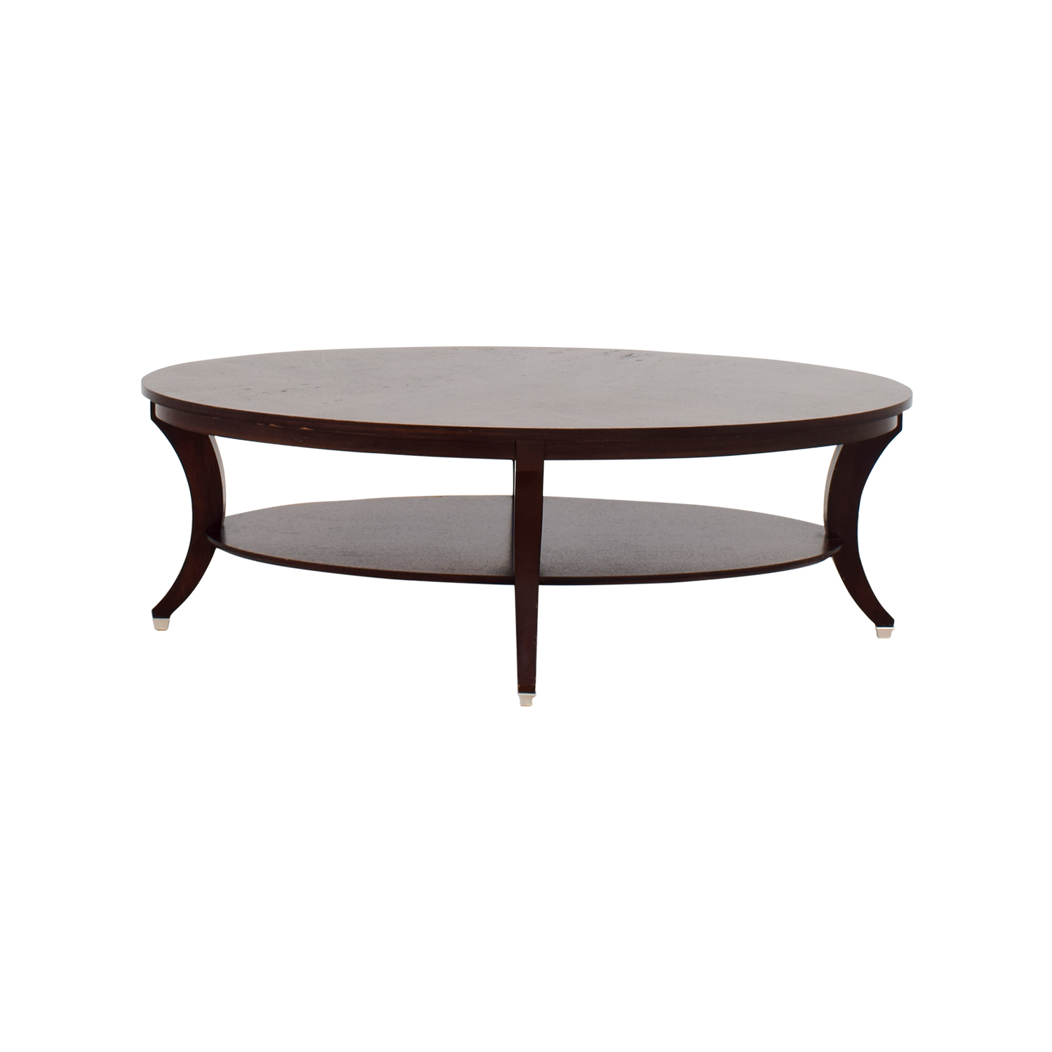 shop Ethan Allen Adler Oval Coffee Table Ethan Allen Tables