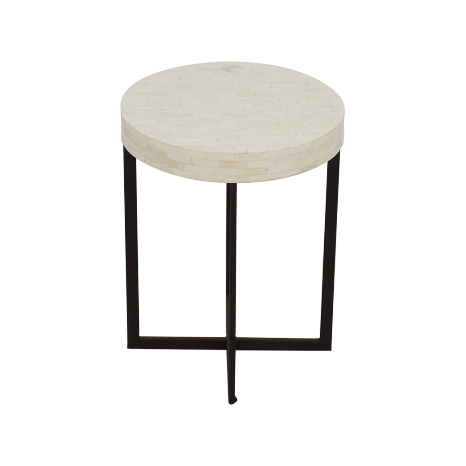 shop West Elm Bone Side Table West Elm
