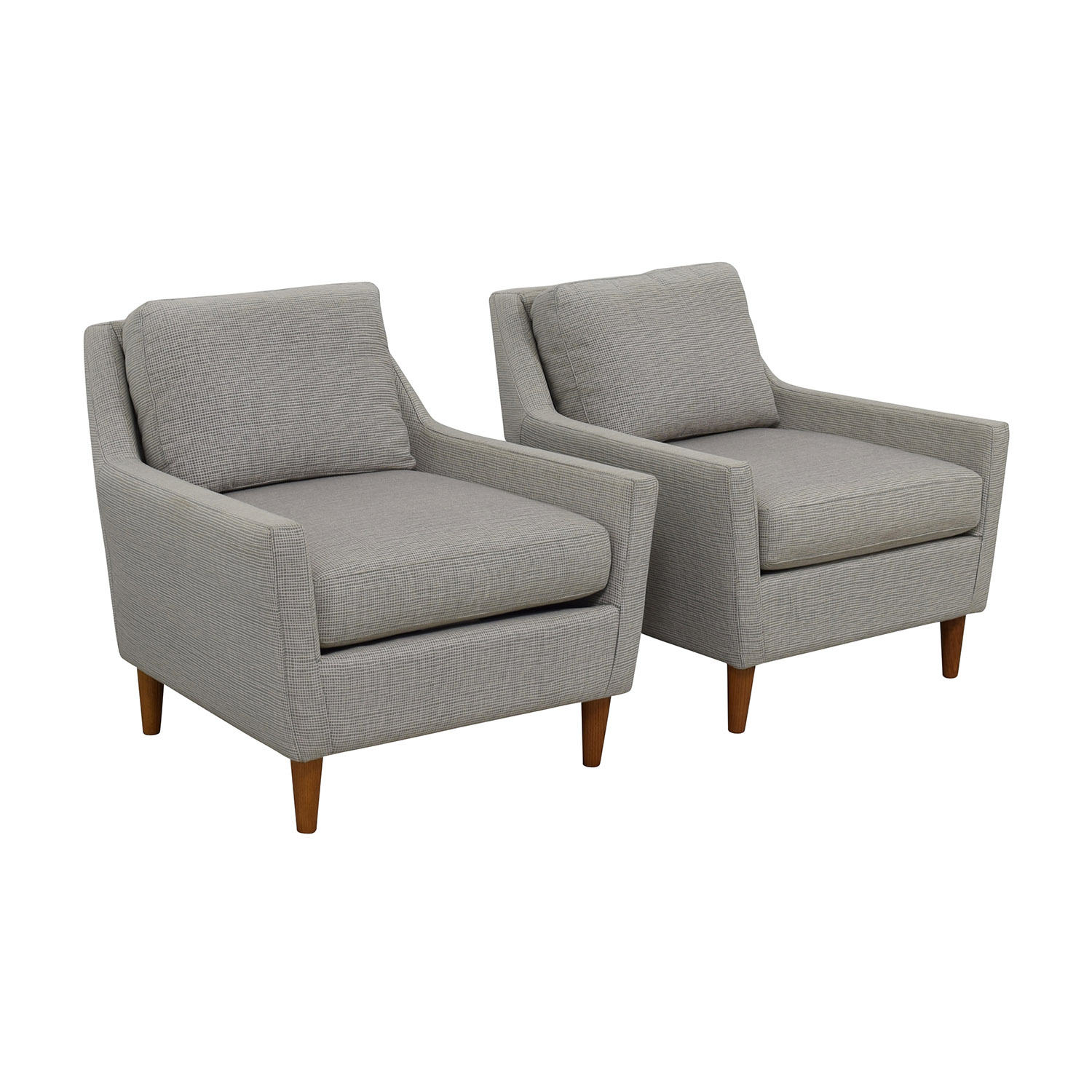 used west elm furniture.  Used Buy West Elm Everett Grey Arm Chairs Online Intended Used Furniture T