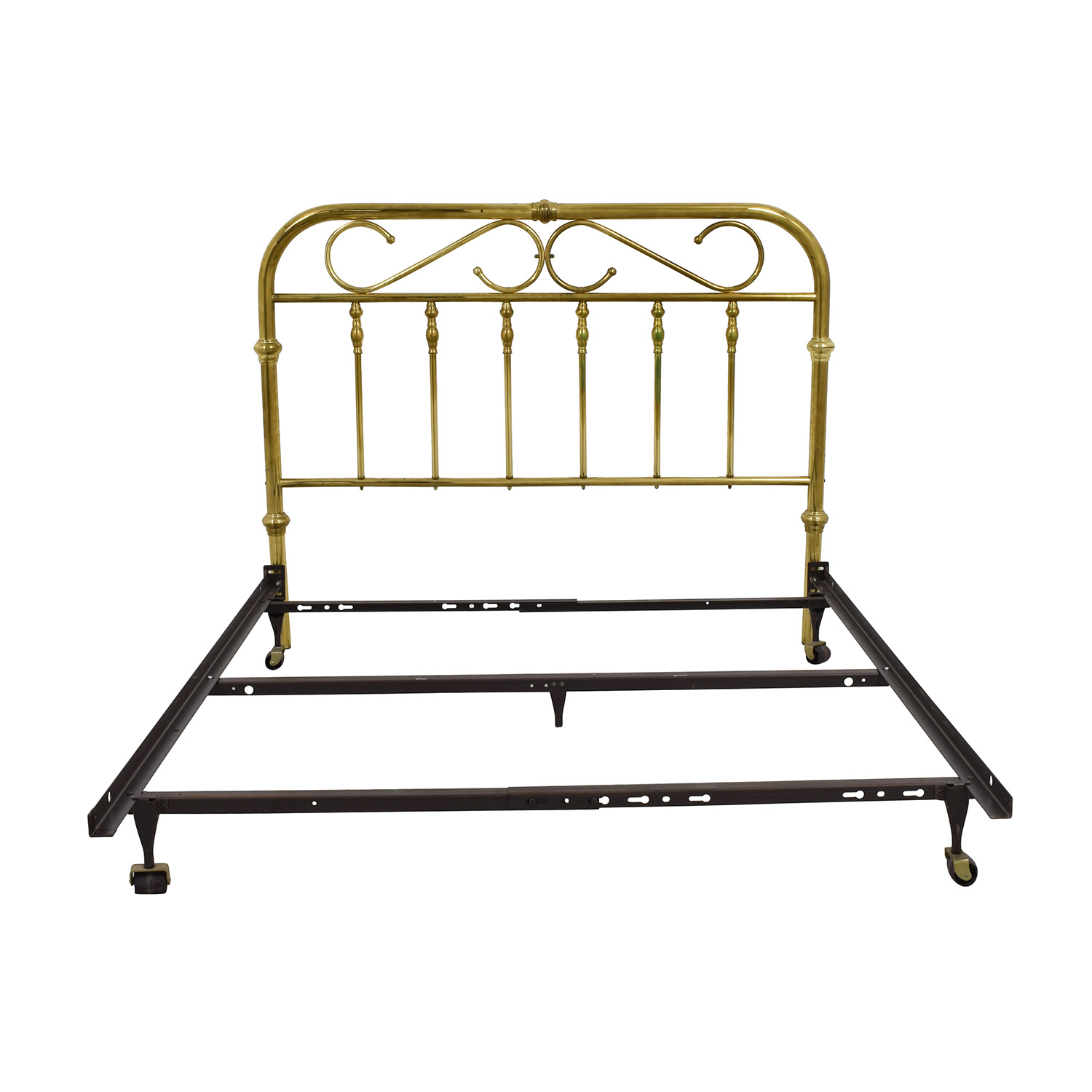 shop Brass and Metal Queen Bed Frame online