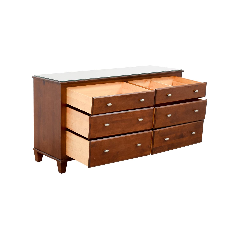 78 off ethan allen ethan allen six drawer double for Ethan allen furniture