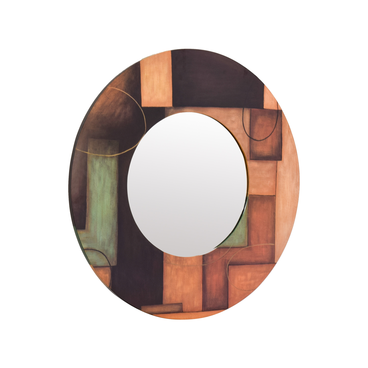 Fortunoff Fortunoff Round Beveled Mirror second hand