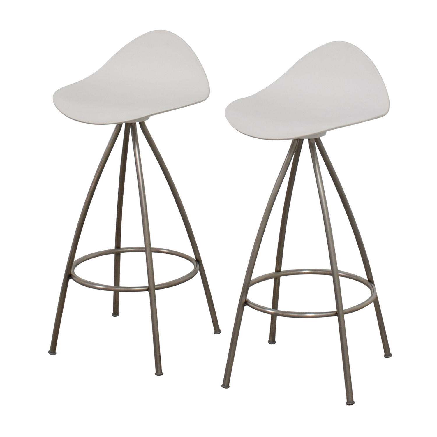 85 Off Design Within Reach Dwr Onda Counter Stool Chairs