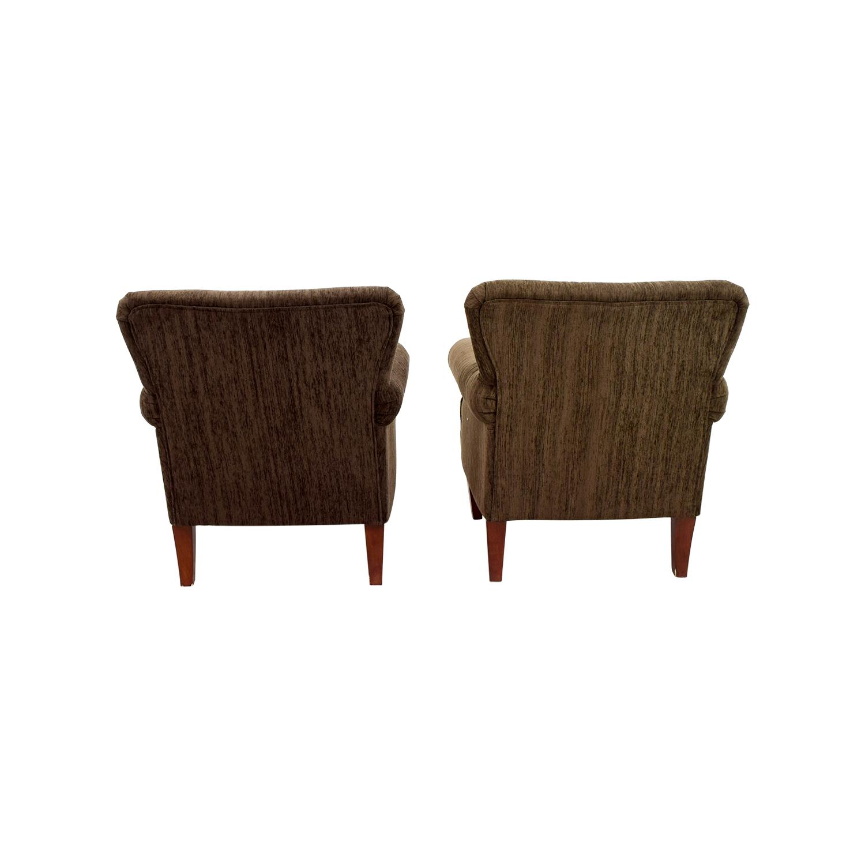 shop Emerald Home Furnishings Upholstered Brown Chairs Emerald Home Furnishings Accent Chairs