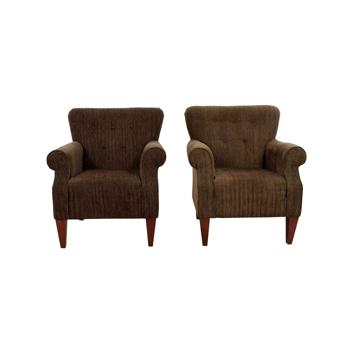 Emerald Home Furnishings Upholstered Brown Chairs / Chairs