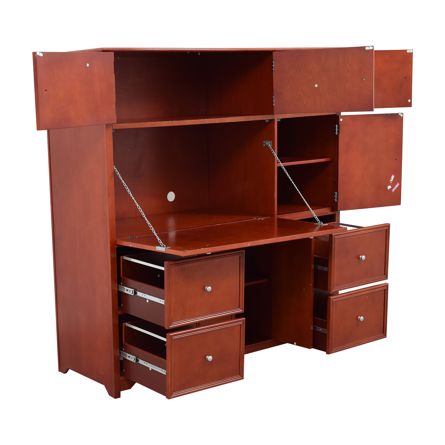 shop Red Secretary Desk online
