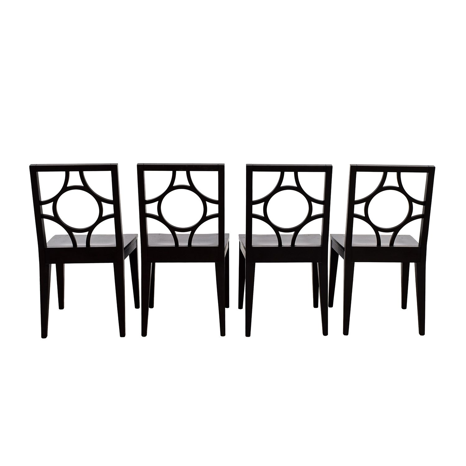 West Elm West Elm Cutout Dining Chairs