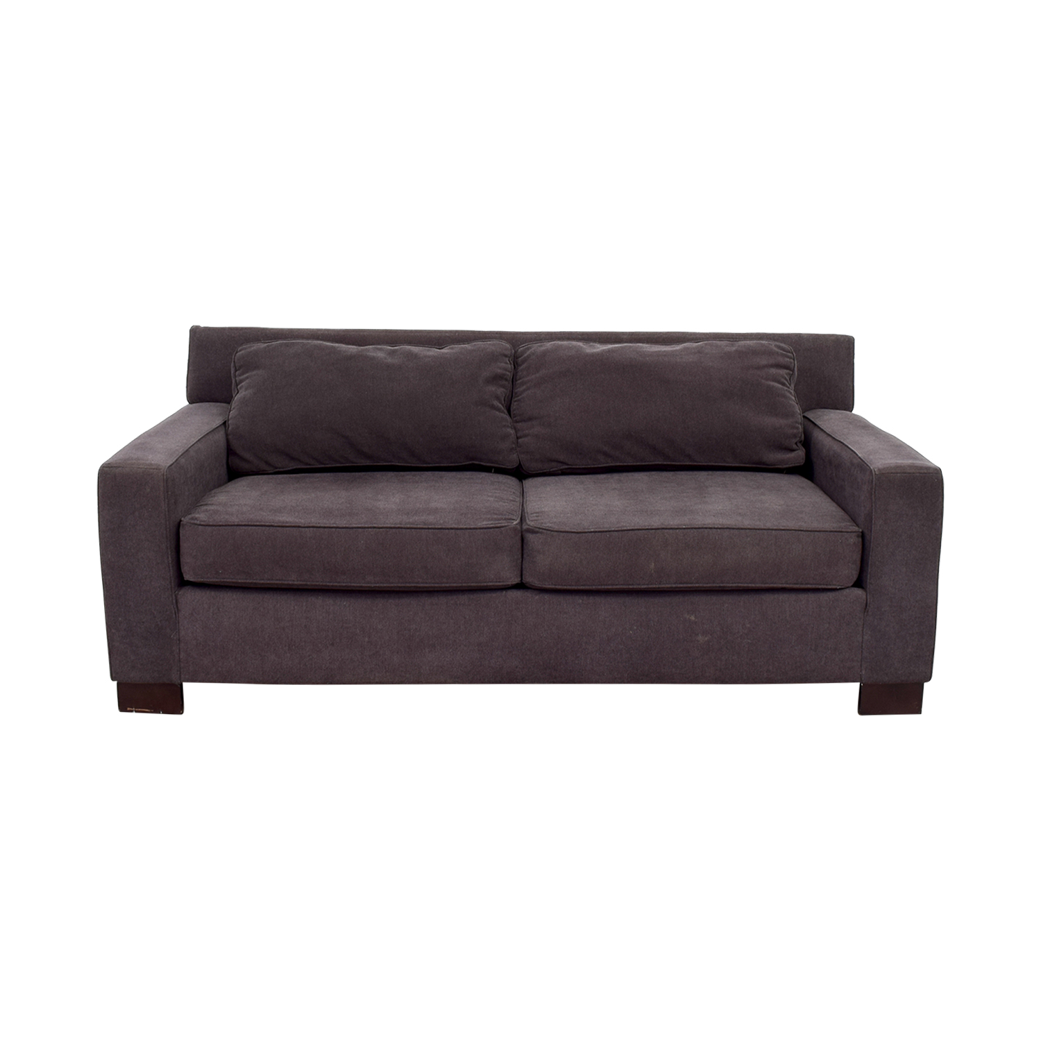 West Elm West Elm Henry Gray Loveseat discount