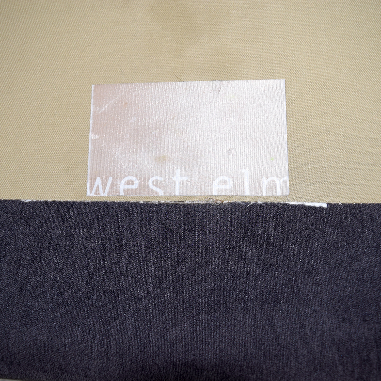 buy West Elm Henry Gray Loveseat West Elm Loveseats