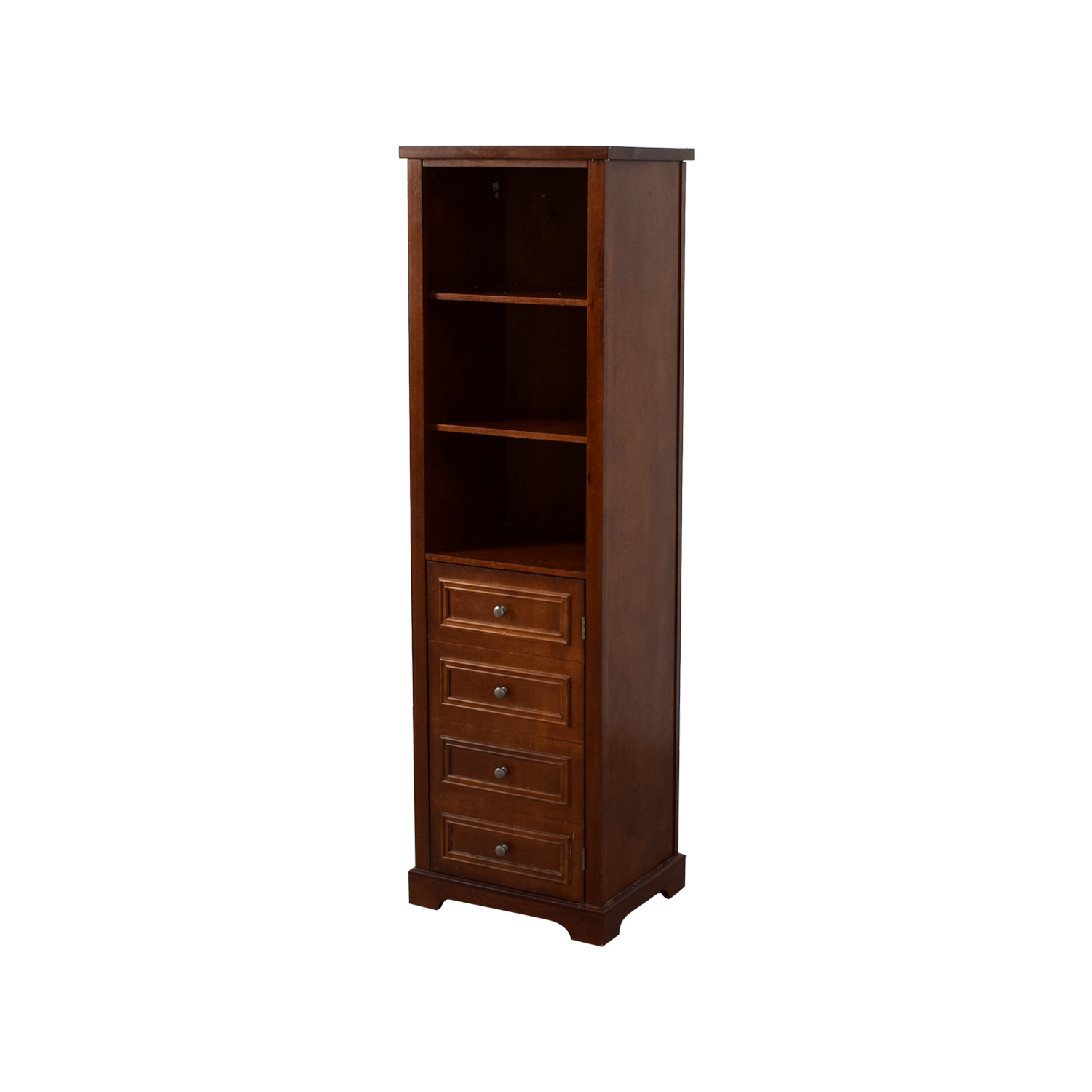 Tall Five Shelf Bookcase nj