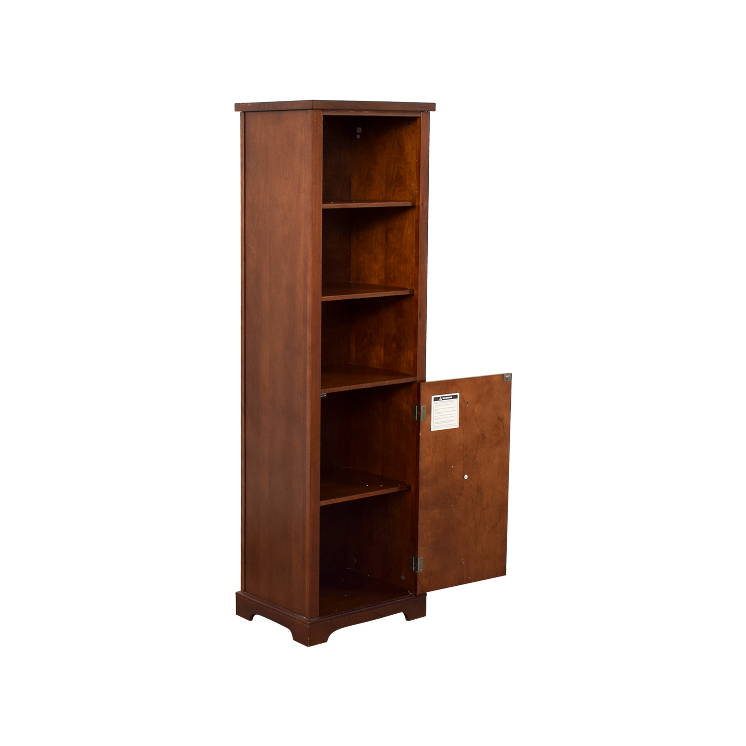 buy Tall Five Shelf Bookcase online