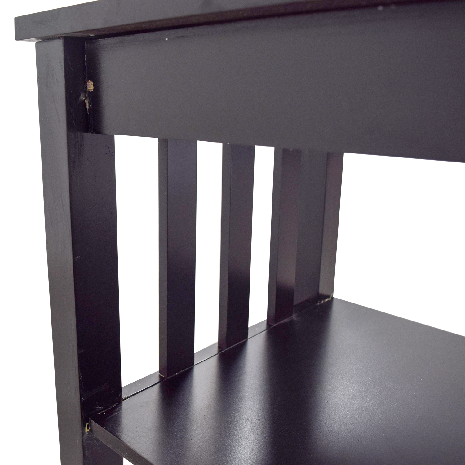 60% OFF Black Modern Console table Tables