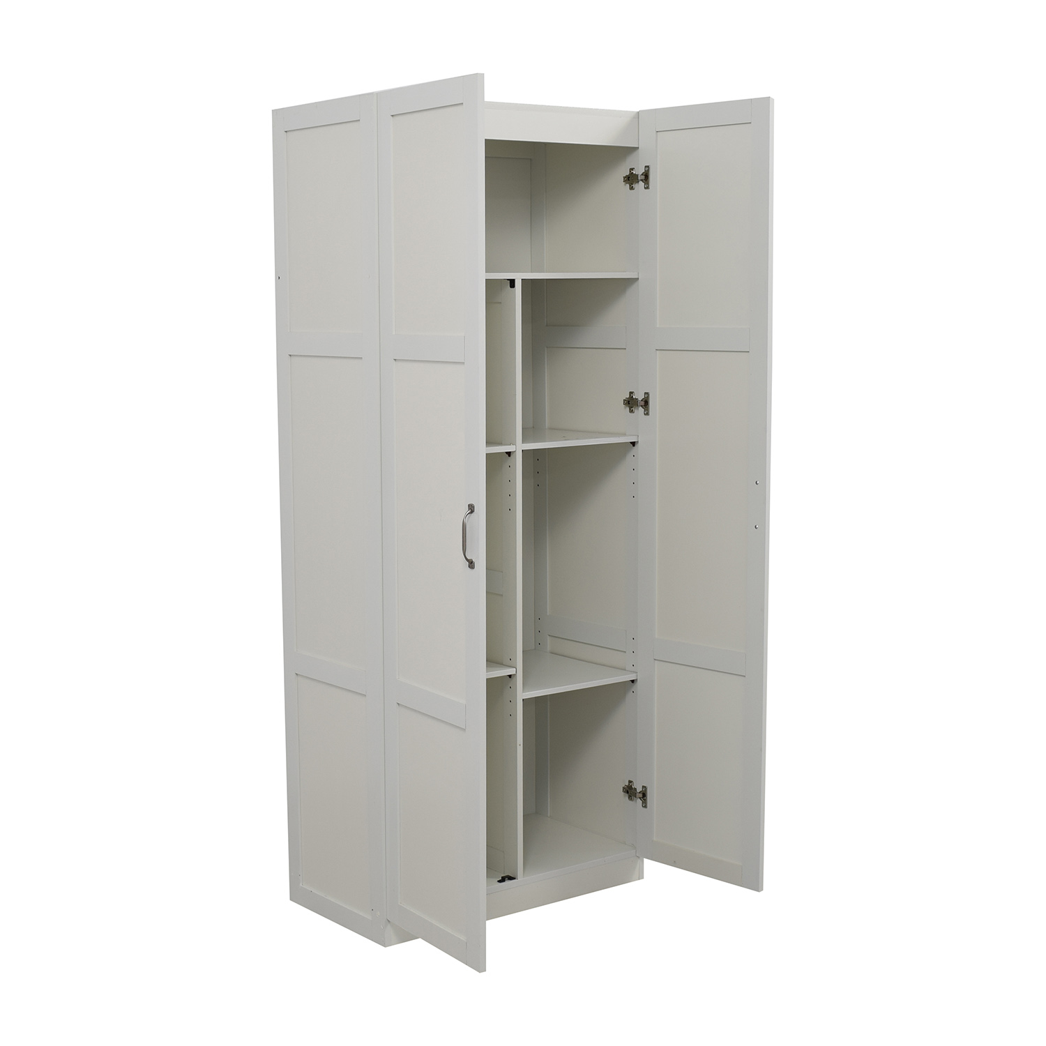 white pantry cabinets for kitchen 35 white kitchen pantry storage 1858