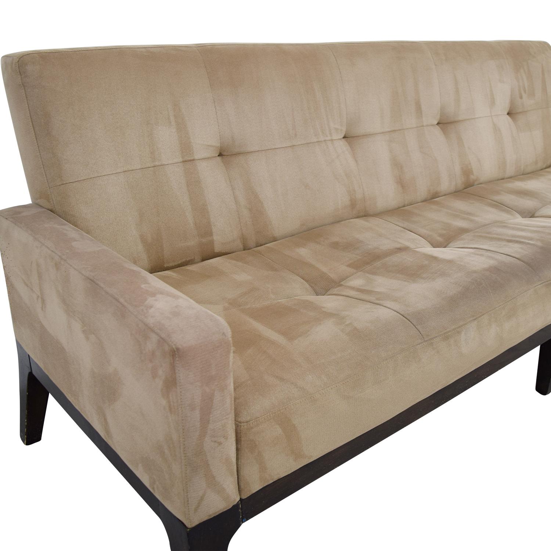 ... buy West Elm Mid-Century Tan Tufted Sofa West Elm Sofas ...