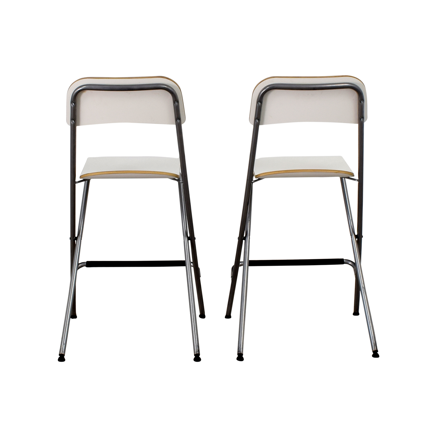 IKEA Counter Top Chair Pair / Dining Chairs