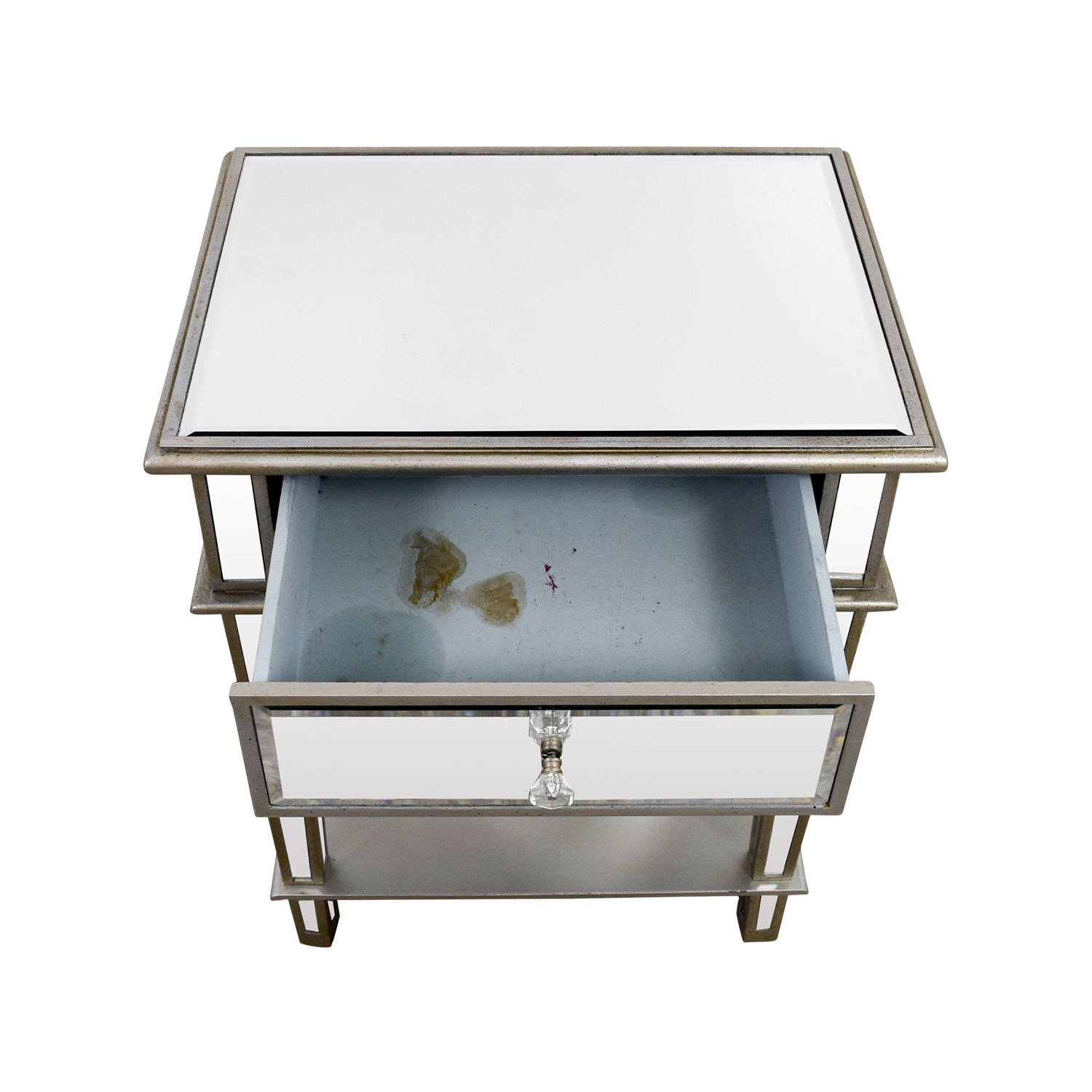 ... Joss U0026 Main Joss U0026 Main Mirrored Night Stand End Tables