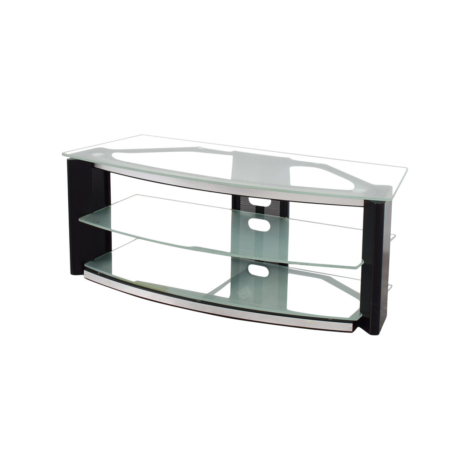 ... Buy Best Buy Glass And Metal TV Stand Best Buy Media Units ...