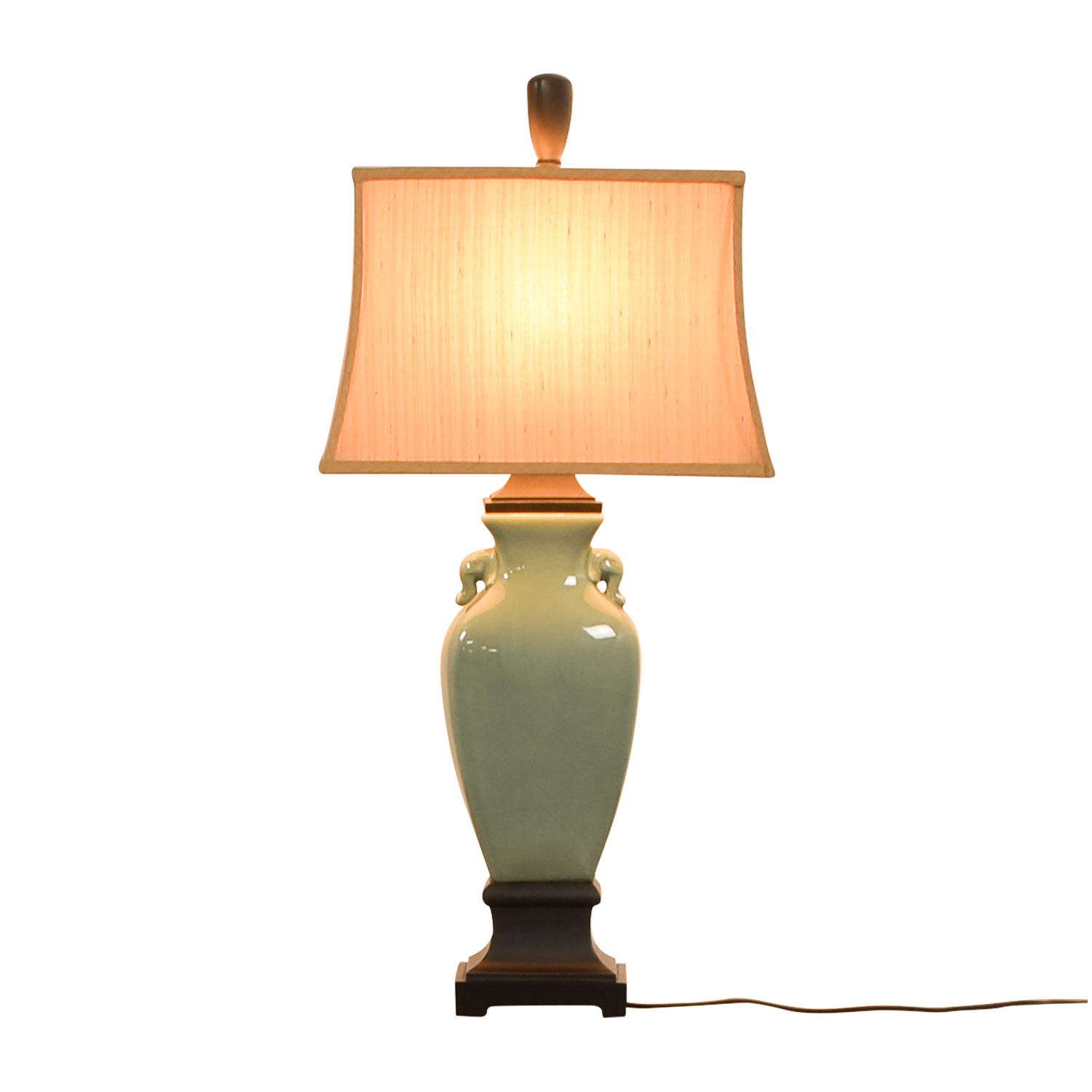 buy Green Ceramic Table Lamp