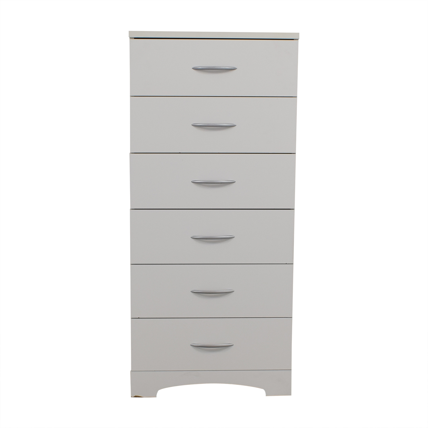 buy Tall White Six-Drawer Dresser