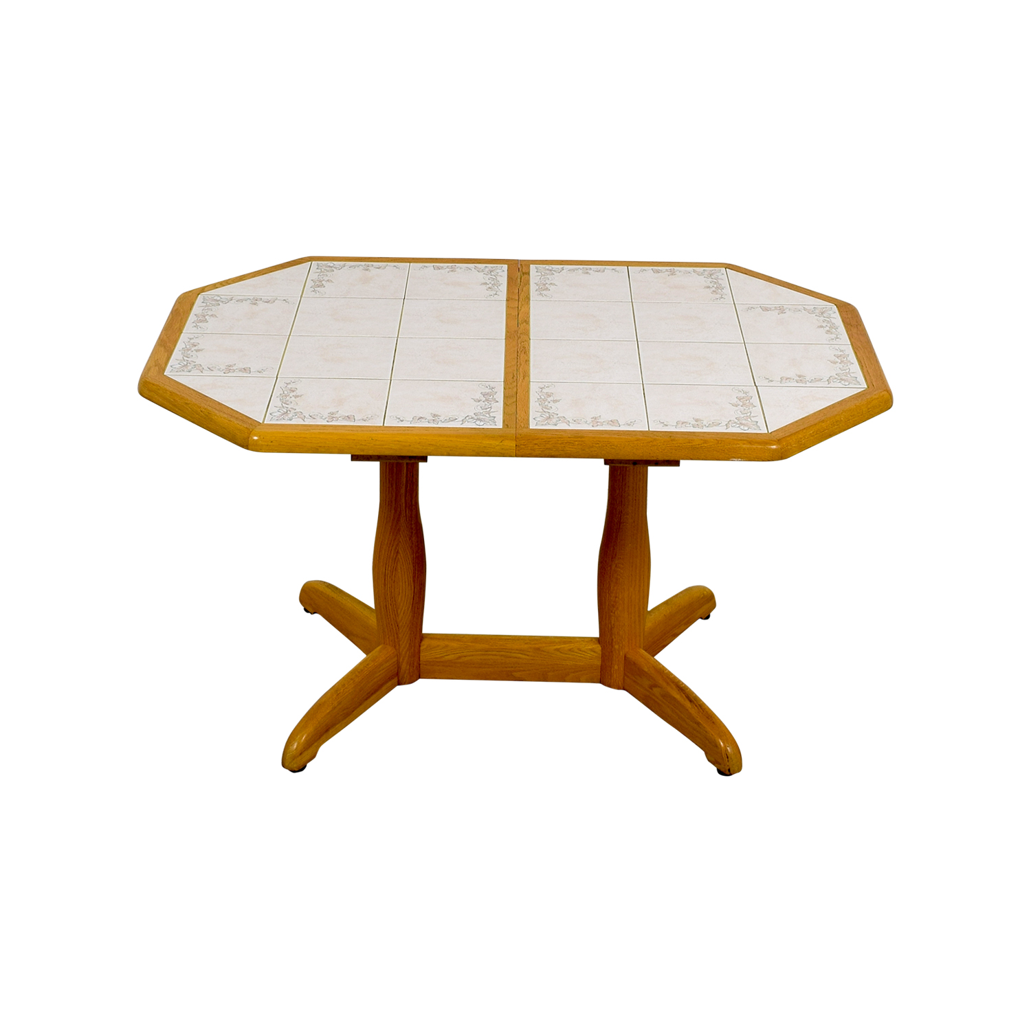 Dinaire Dinaire Wood and Tile Kitchen Table coupon