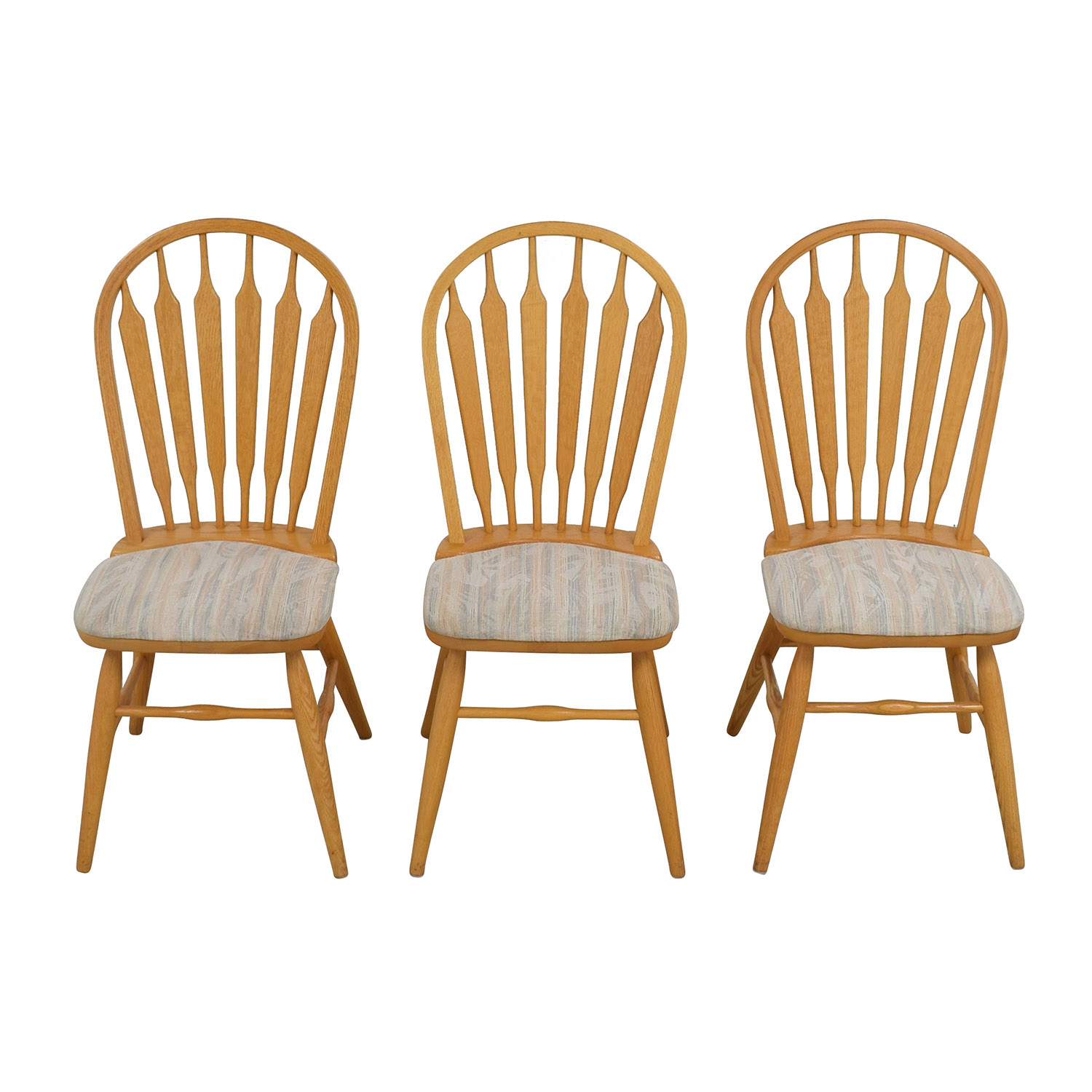67 Off Dinaire Dinaire Kitchen Chairs With Cushions Chairs