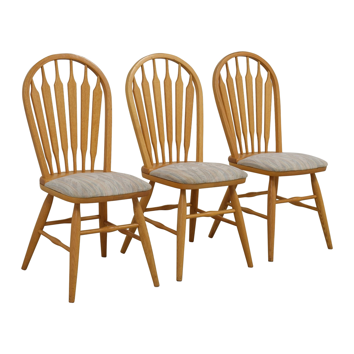 12% OFF - Dinaire Dinaire Kitchen Chairs with Cushions / Chairs