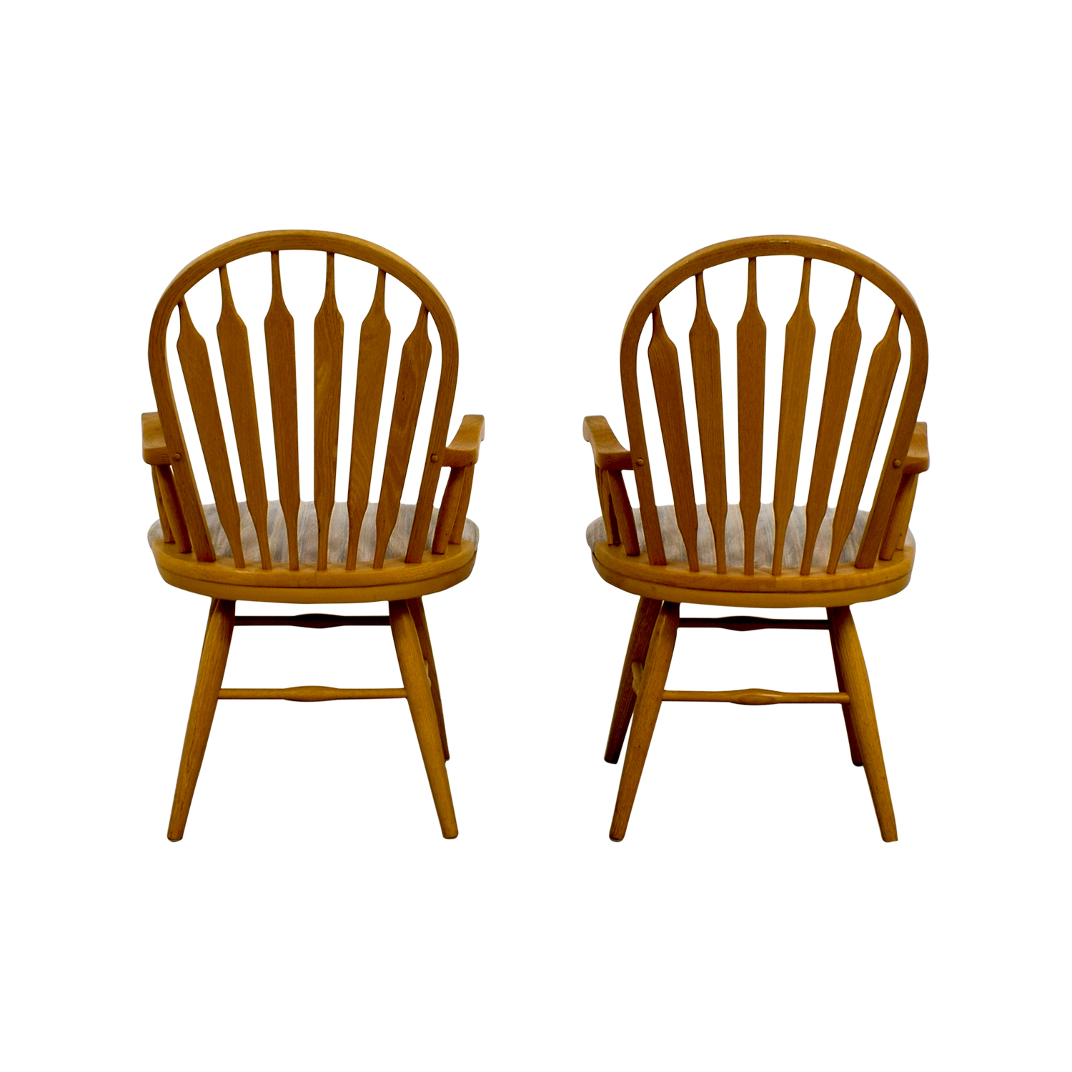 buy Dinaire Dinaire Wooden Arm Chairs online