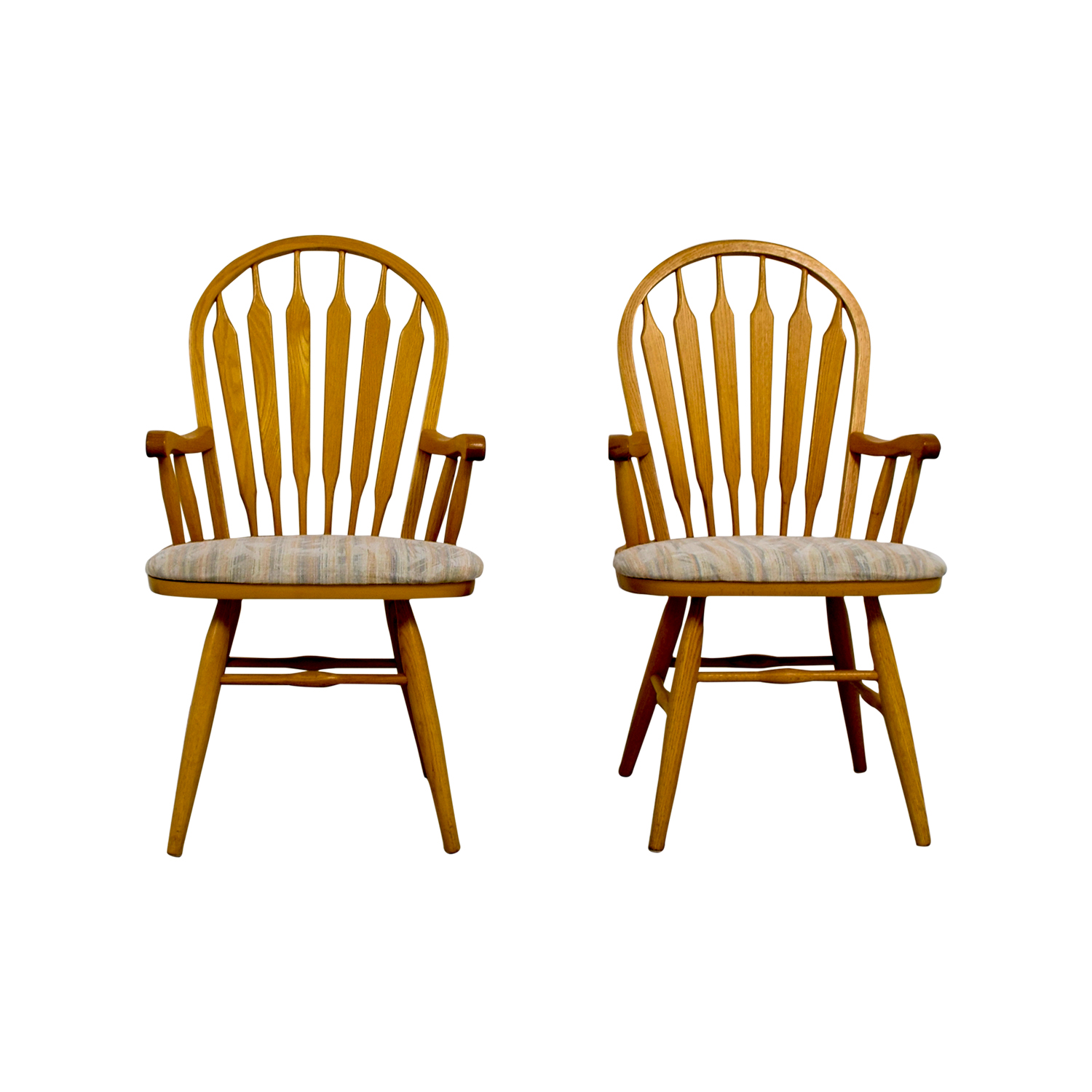 buy Dinaire Wooden Arm Chairs Dinaire