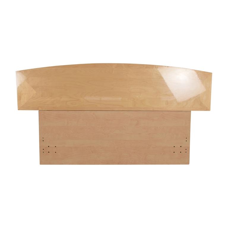 buy  Natural Wood Queen Headboard online