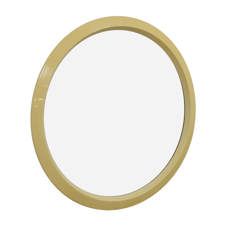 Lane Lane Cream Round Wall Mirror discount
