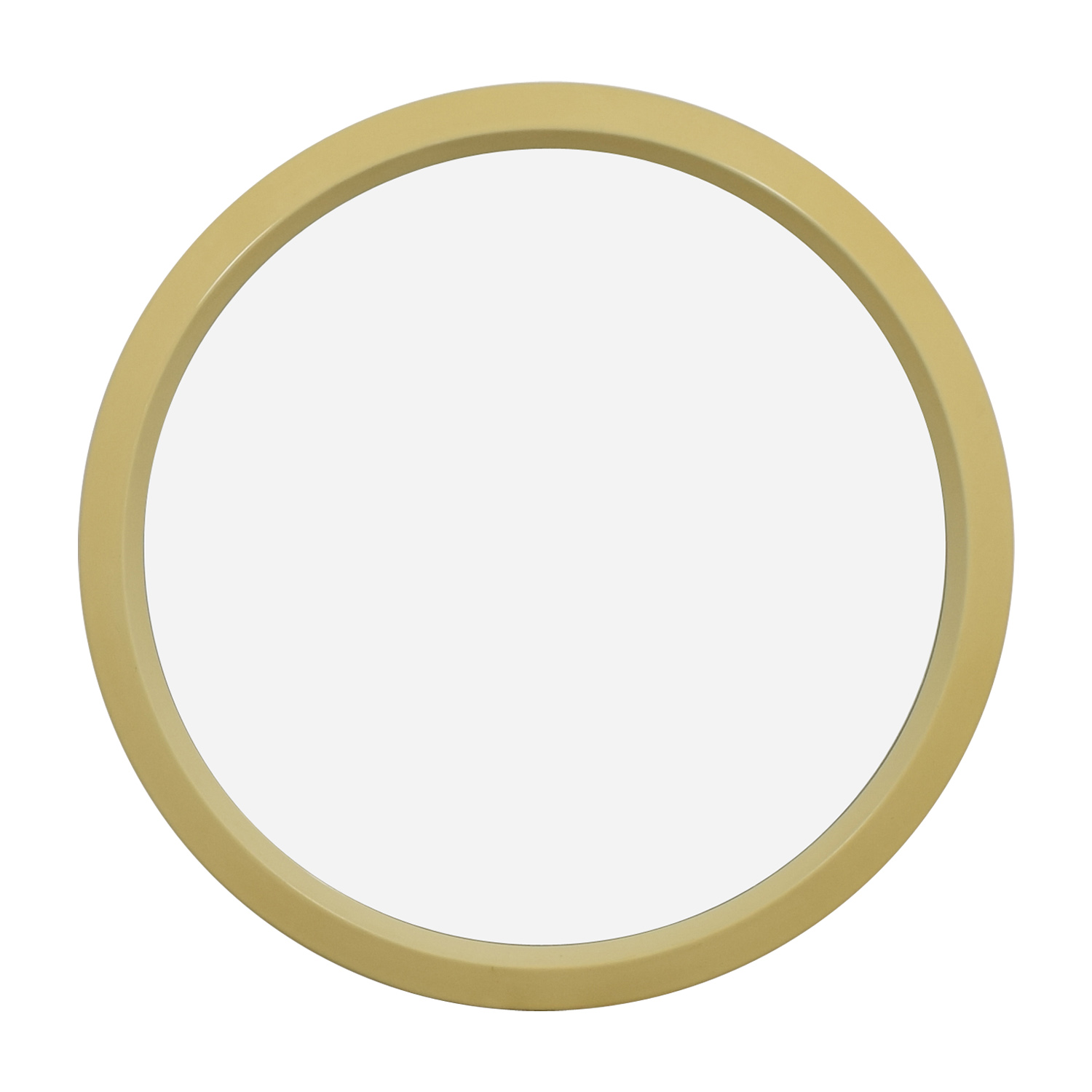 Lane Cream Round Wall Mirror / Decor