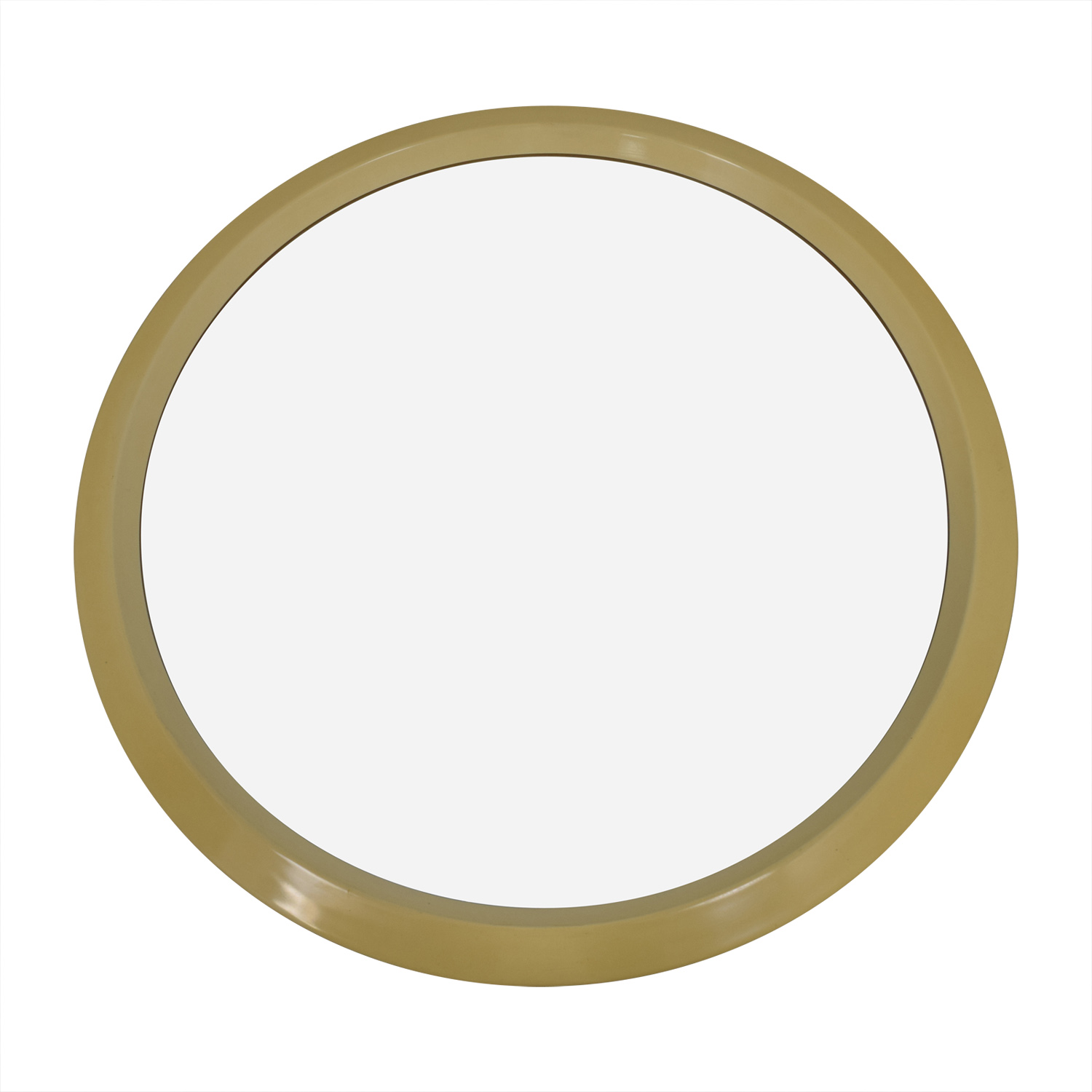 Lane Lane Cream Round Wall Mirror on sale