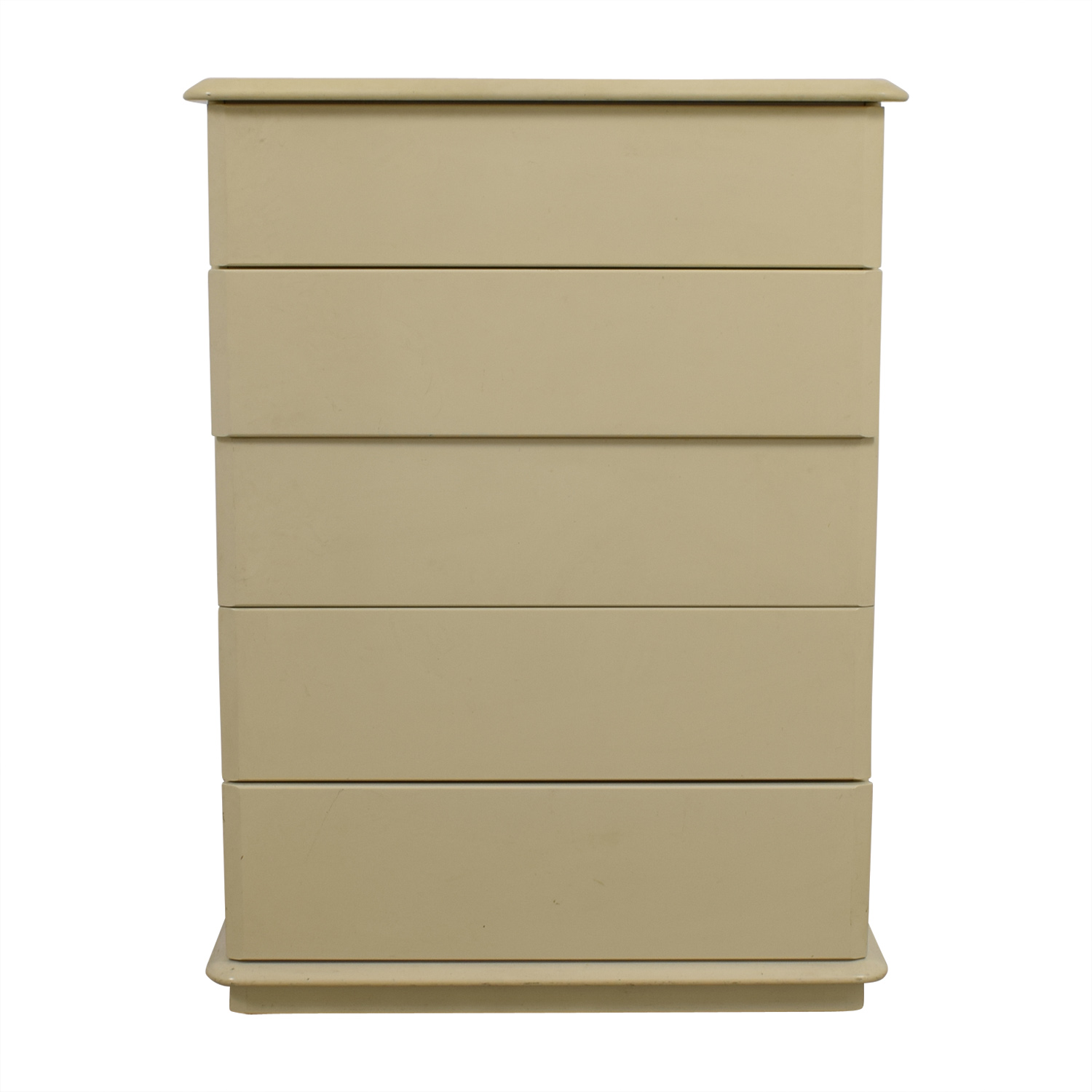Lane Lane Tall 5 Drawer Dresser Cream