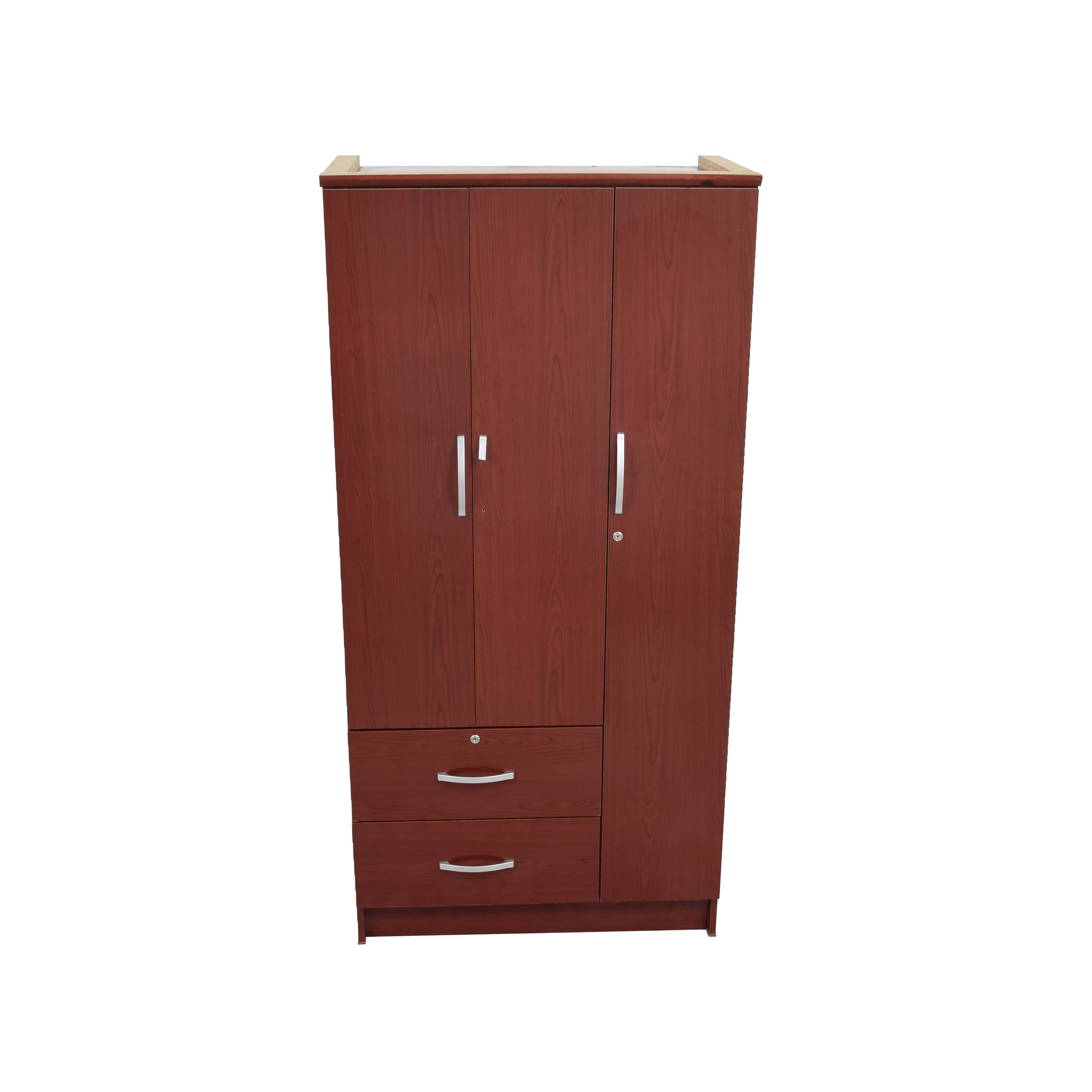 wardrobe with gray doors todalen drawer brown drawers box item taupe