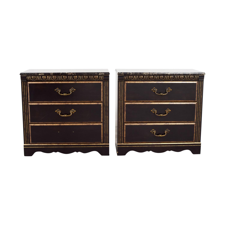 Lafayette Lafayette Three Drawer Chest Dressers nyc