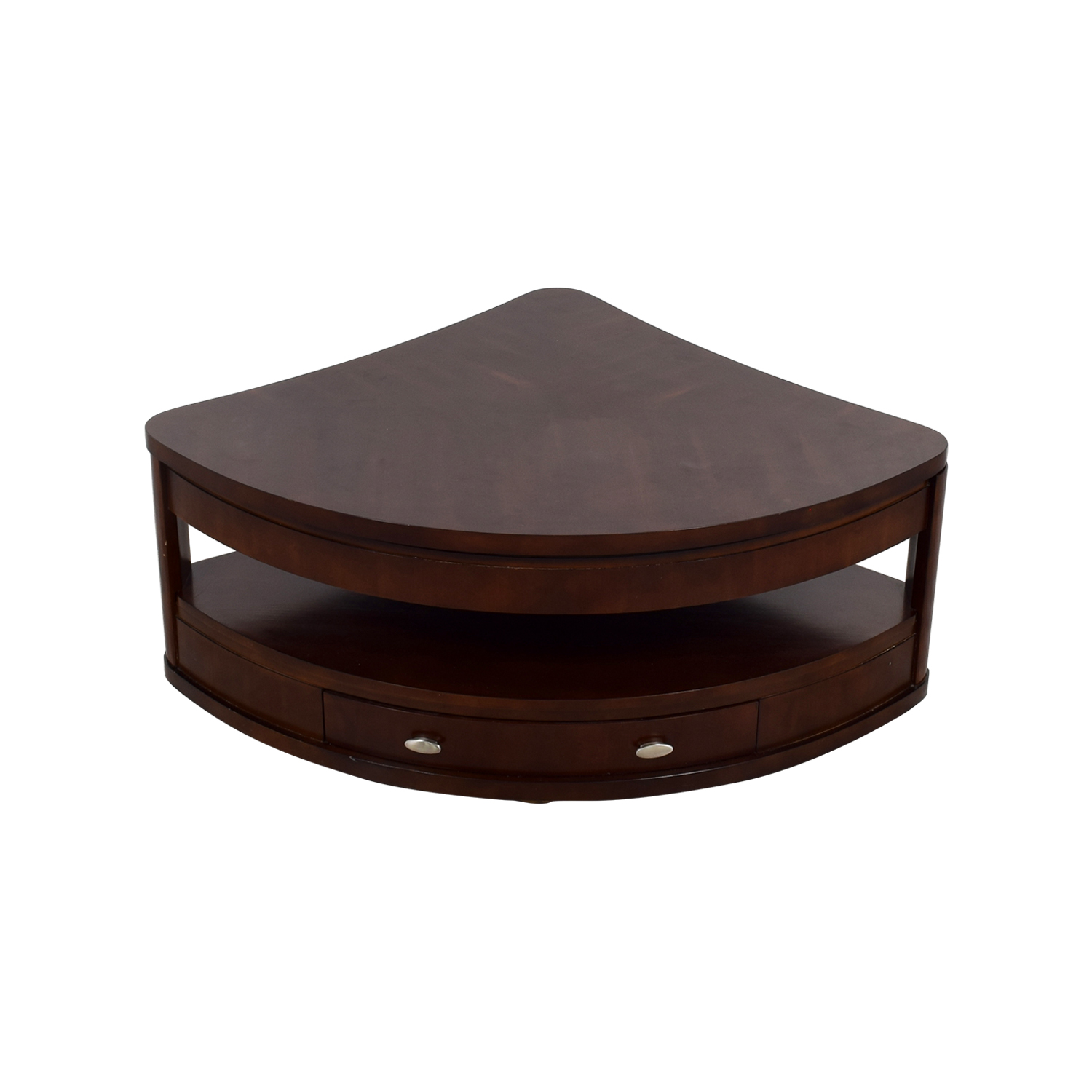 90 Off Triangular Rounded Lift Top Coffee Table Tables