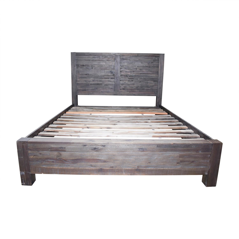 Modus Savana Rustic Queen Bedframe / Bed Frames