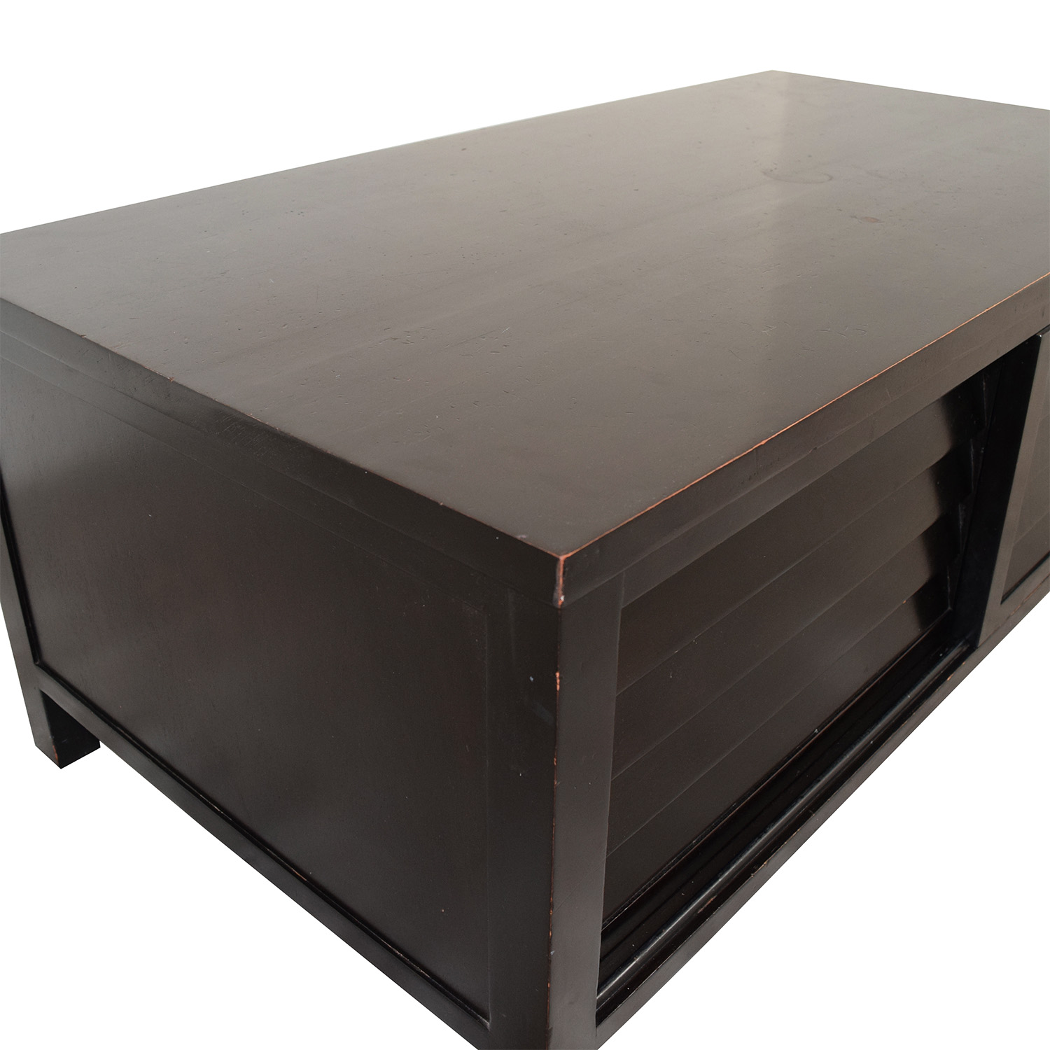Crate And Barrel Black Marble Coffee Table: Crate & Barrel Crate & Barrel Coffee Table W