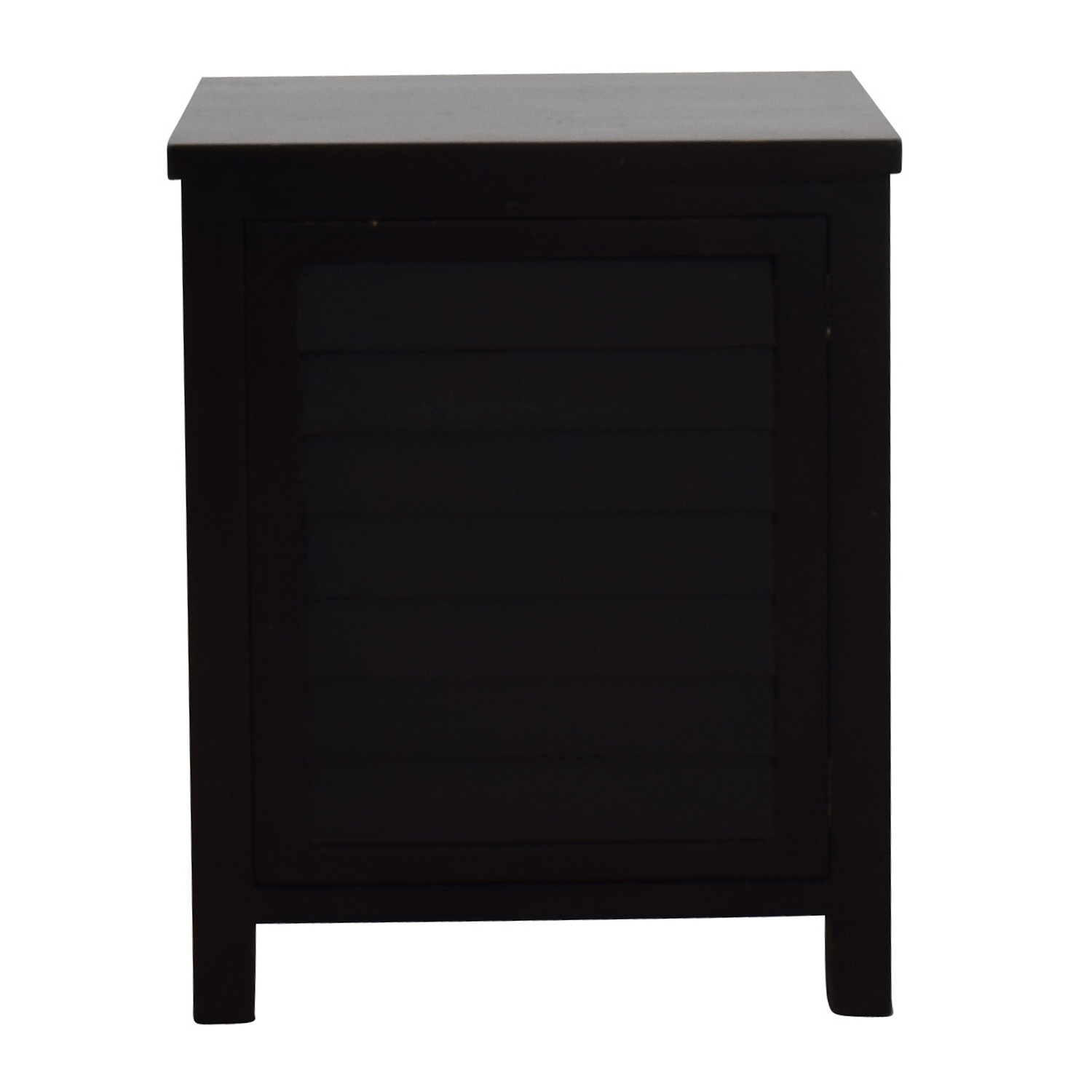 OFF Crate & Barrel Crate & Barrel Side Table with Storage