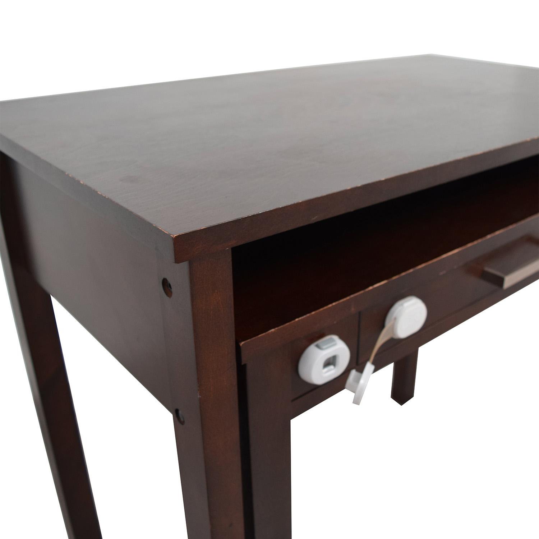 Crate & Barrel Crate & Barrel Wooden Multi-Drawer Desk price