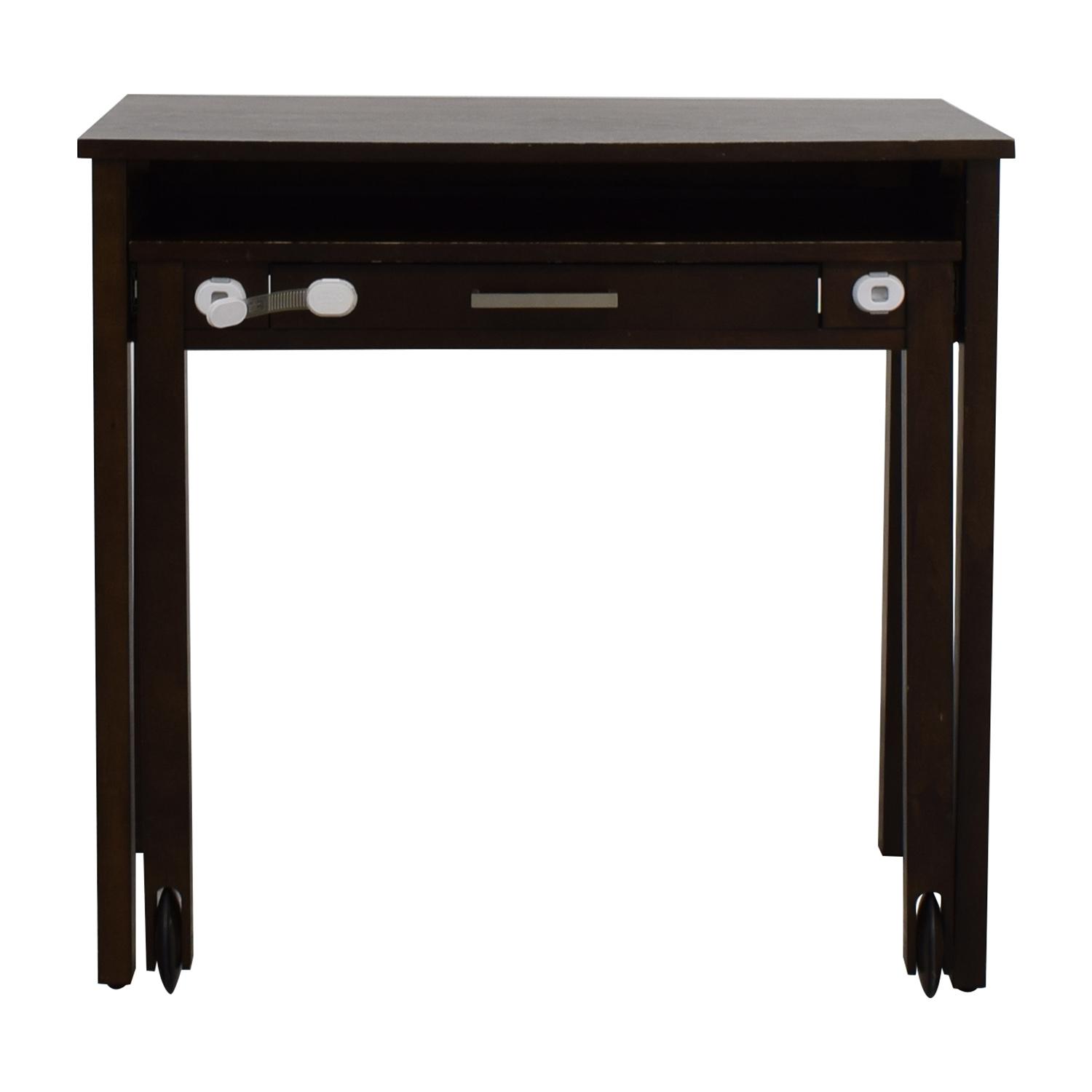 Crate & Barrel Crate & Barrel Wooden Multi-Drawer Desk