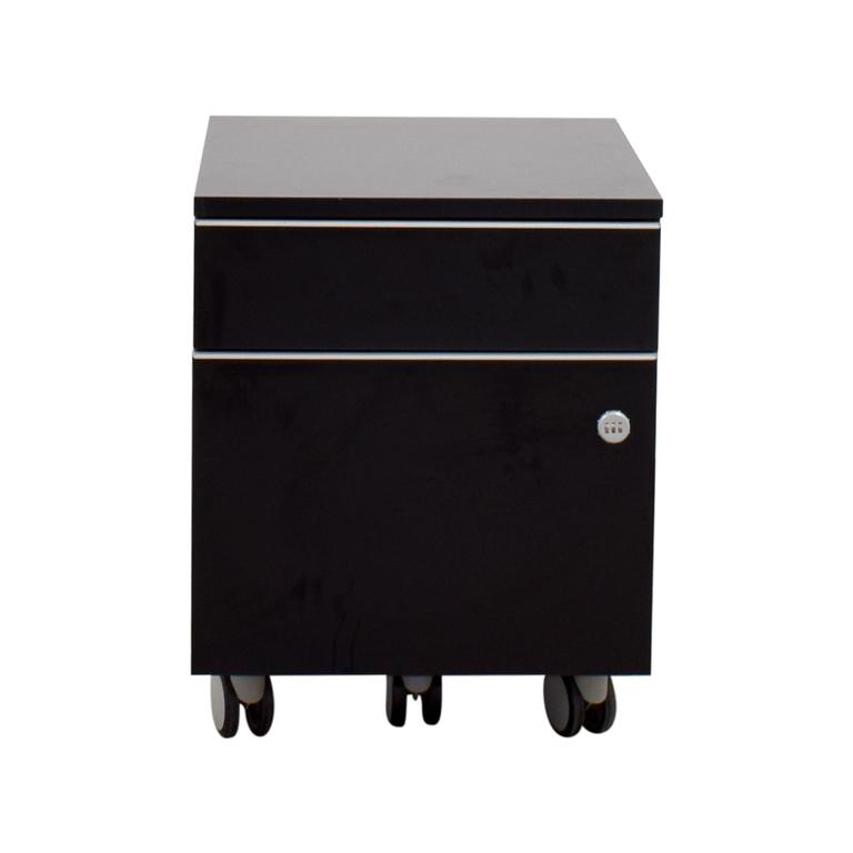 IKEA IKEA Black File Cabinet second hand