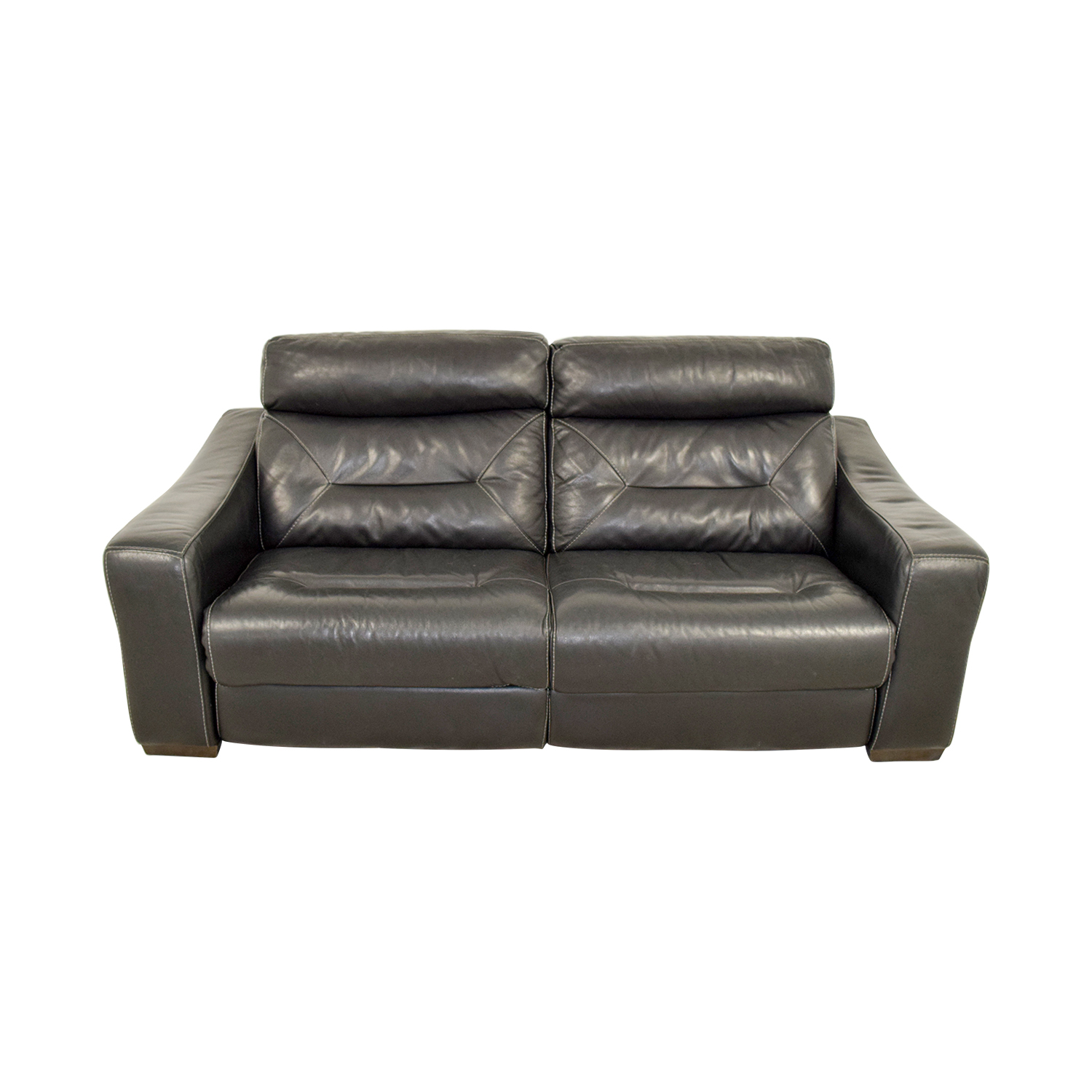 Macyu0027s Macyu0027s Black Leather Recliner Sofa used; Macyu0027s Black Leather Recliner Sofa Macyu0027s ...  sc 1 st  Furnishare & 37% OFF - Macyu0027s Macyu0027s Black Leather Recliner Sofa / Chairs islam-shia.org