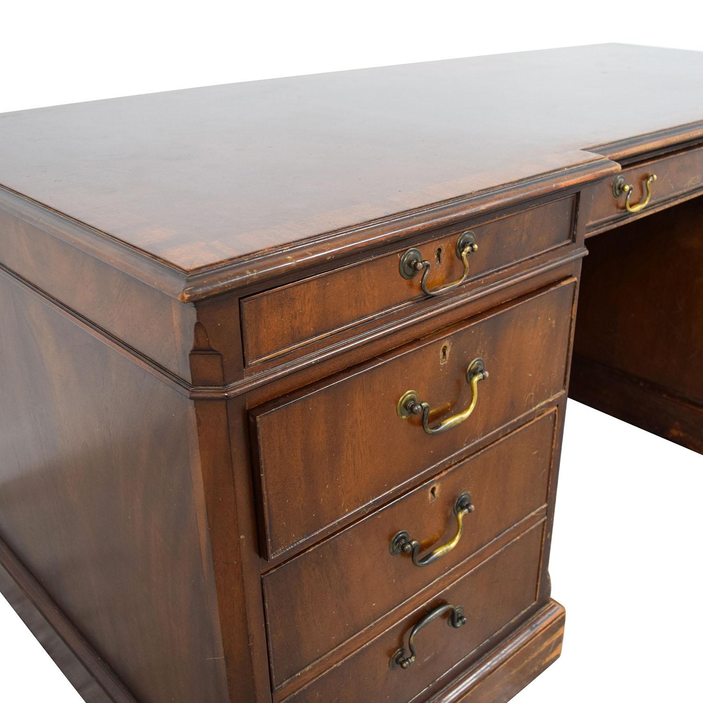 Smith & Watson Smith & Watson Wood Desk Home Office Desks