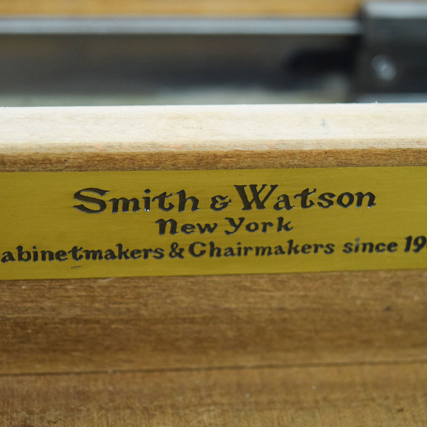 Smith & Watson Smith & Watson Wood Desk used