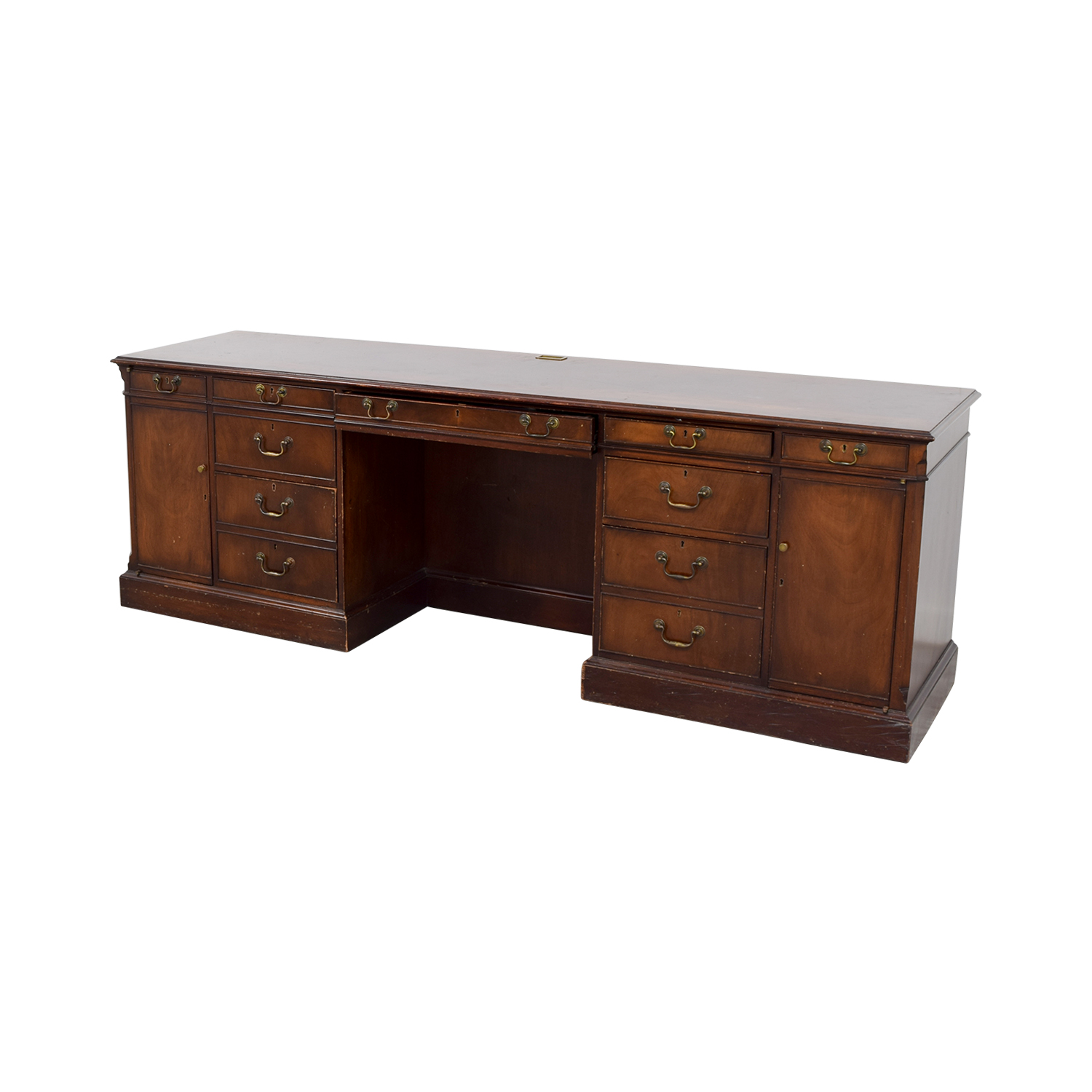 Smith & Watson Smith & Watson Wood Credenza Desk for sale