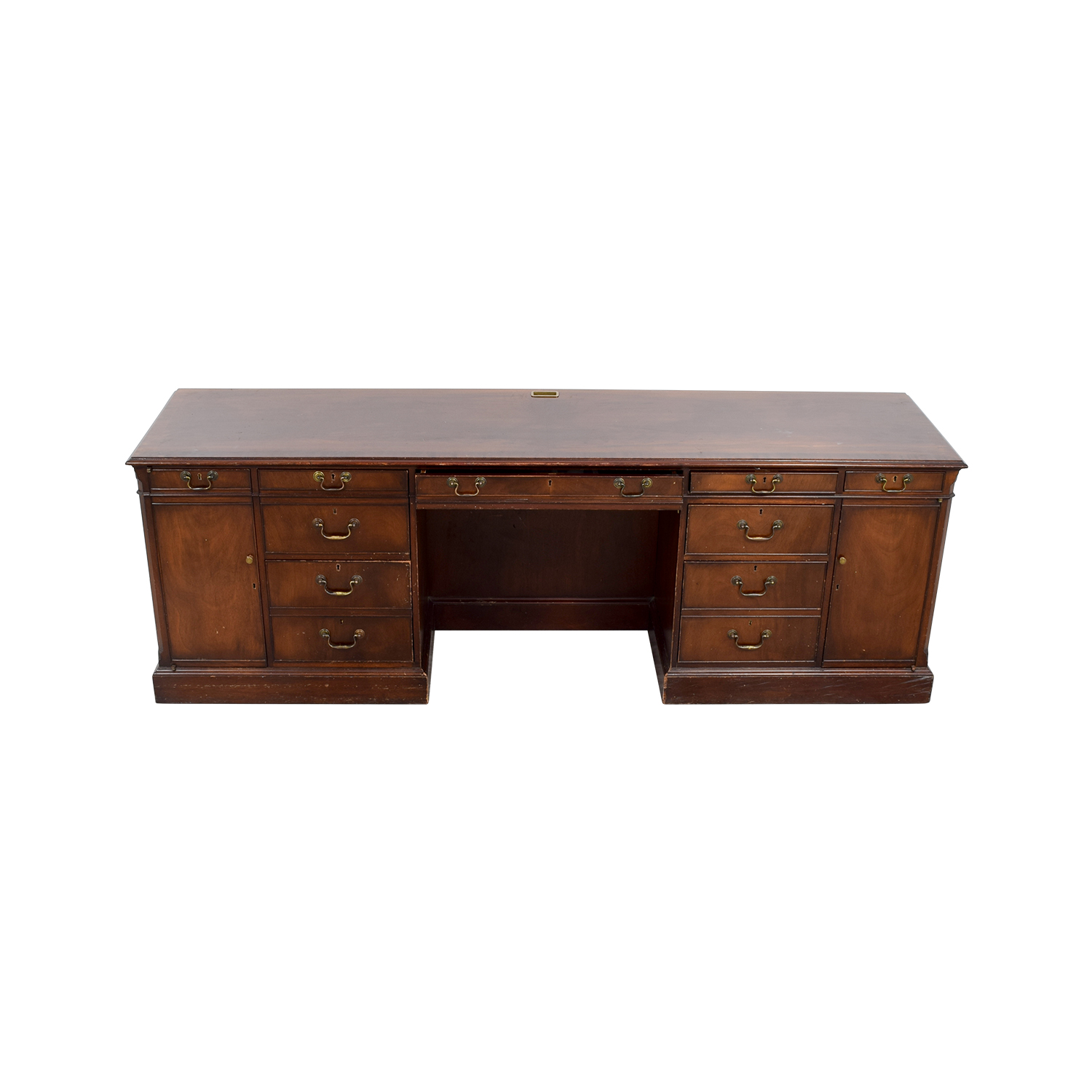 Smith & Watson Smith & Watson Wood Credenza Desk on sale